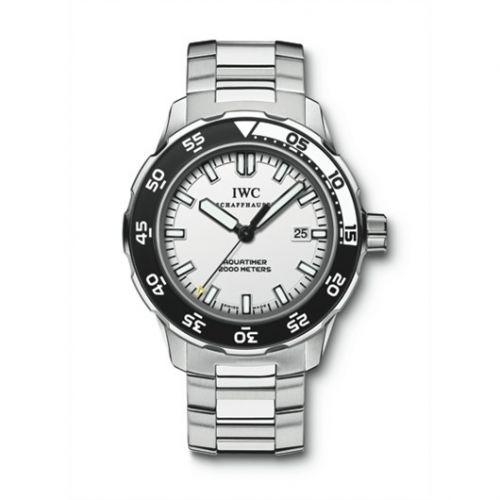 IWC IW3568-05 : Aquatimer 2000 Stainless Steel / White / Bracelet
