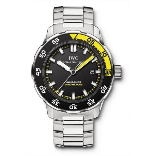 IWC IW3568-08 : Aquatimer 2000 Stainless Steel / Black / Bracelet