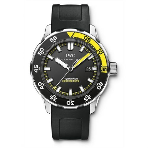 IWC IW3568-10 : Aquatimer 2000 Stainless Steel / Black / Rubber
