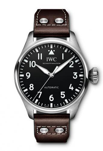 IWC IW3293-01 : Big Pilot 43 Stainless Steel / Black