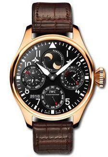 IWC IW5026-13 : Big Pilot Perpetual Calendar Red Gold / Black / Buenos Aires Boutique Orsini