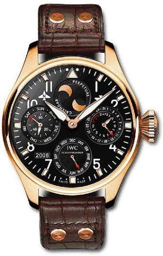 IWC IW5026-08 : Big Pilot Perpetual Calendar Red Gold / Black / Bucherer