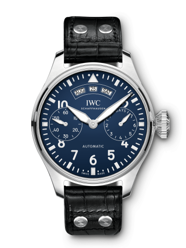 "IWC IW5027-08 : Big Pilot's Watch Annual Calendar ""150 Years"" Stainless Steel / Blue"