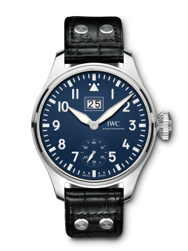 IWC IW5105-03 : Big Pilot's Watch Big Date 150 Years Stainless Steel / Blue