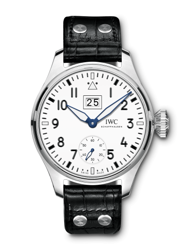IWC IW5105-04 : Big Pilot's Watch Big Date 150 Years Stainless Steel / White