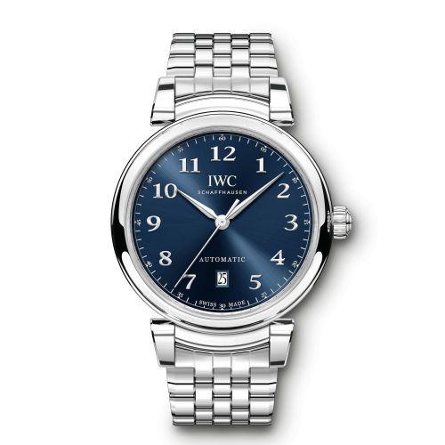 IWC IW3566-05 : Da Vinci 40 Stainless Steel / Blue / Bracelet