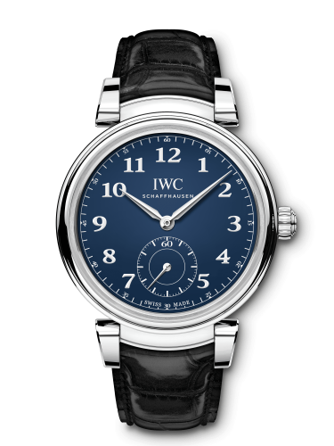 IWC IW3581-02 : Da Vinci Automatic Edition 150 Years Stainless Steel / Blue