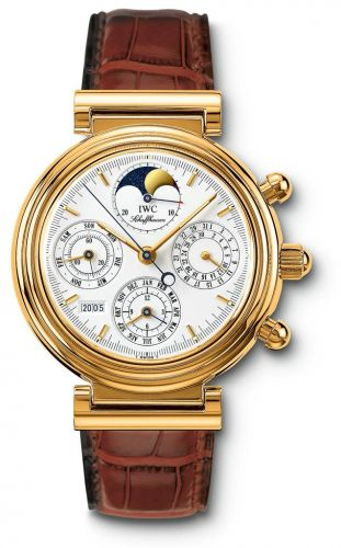 IWC IW3750-01 : Da Vinci Perpetual Yellow Gold / White / German