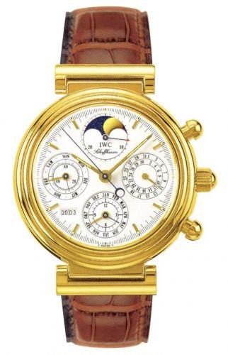 IWC IW3750-03 : Da Vinci Perpetual Yellow Gold / White / English