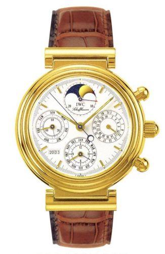 IWC IW3750-04 : Da Vinci Perpetual Yellow Gold / White / French