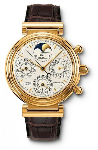 IWC IW3752-01 : Da Vinci Tourbillon Yellow Gold / German