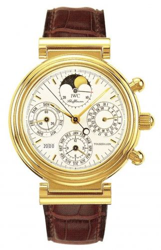 IWC IW3752-04 : Da Vinci Tourbillon Yellow Gold / French
