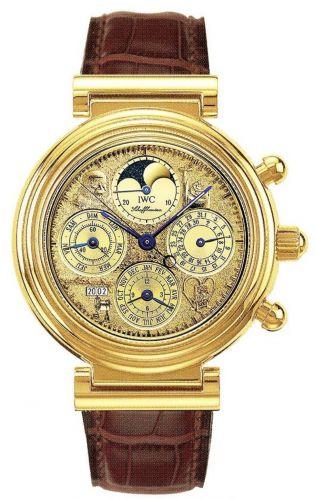 IWC IW3752-14 : Da Vinci Tourbillon Leonardo Yellow Gold / Italian