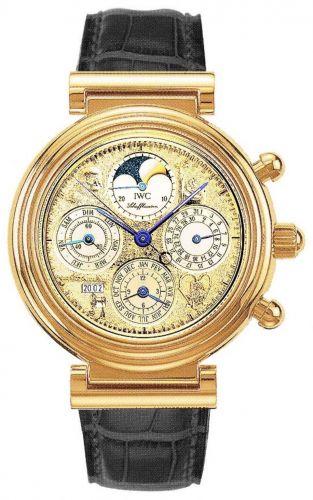 IWC IW3752-18 : Da Vinci Tourbillon Leonardo Rose Gold / Italian