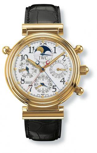 IWC IW3754-01 : Da Vinci Perpetual Rattrapante Rose Gold / Silver / German