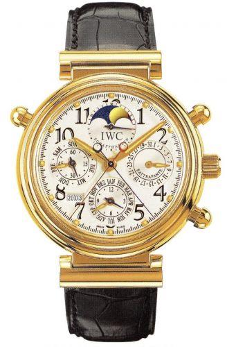 IWC IW3754-03 : Da Vinci Perpetual Rattrapante Rose Gold / Silver / English