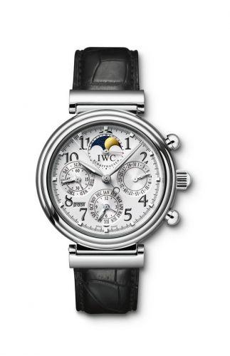 IWC IW3758-03 : Da Vinci Perpetual Stainless Steel / Silver / English