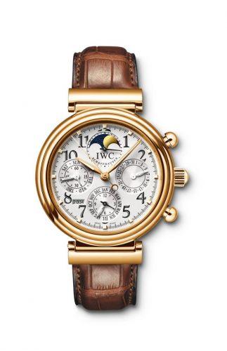 IWC IW3758-19 : Da Vinci Perpetual Yellow Gold / Silver / English