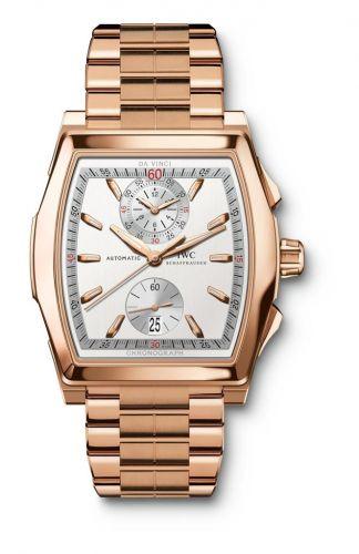 IWC IW3764-06 : Da Vinci Chronograph Rose Gold / Bracelet