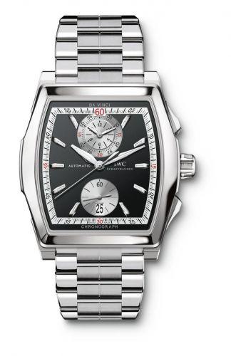 IWC IW3764-07 : Da Vinci Chronograph Stainless Steel / Black / Bracelet