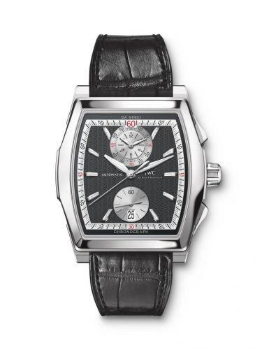 IWC IW3764-13 : Da Vinci Chronograph Stainless Steel / Black