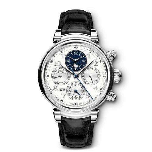 IWC IW3921-04 : Da Vinci Perpetual 3921 Platinum / Silver