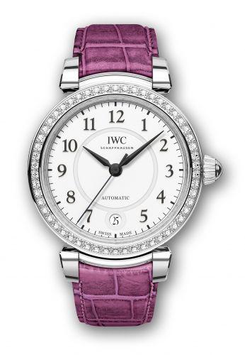 IWC IW4583-08 : Da Vinci 36 Automatic Stainless Steel / Diamond / Silver