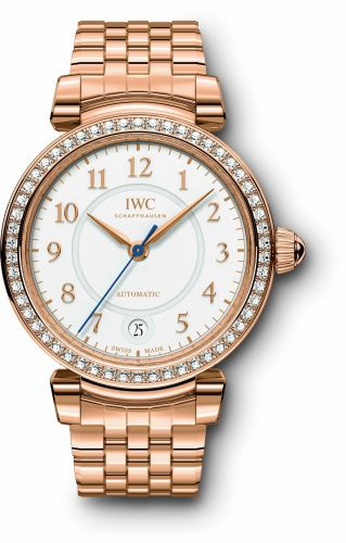 IWC IW4583-10 : Da Vinci 36 Automatic Red Gold / Diamond / Silver / Bracelet