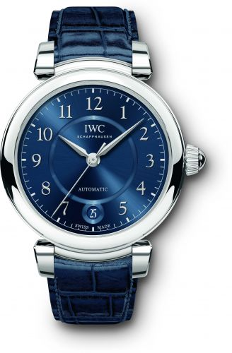 IWC IW4583-12 : Da Vinci 36 Automatic Stainless Steel / Blue