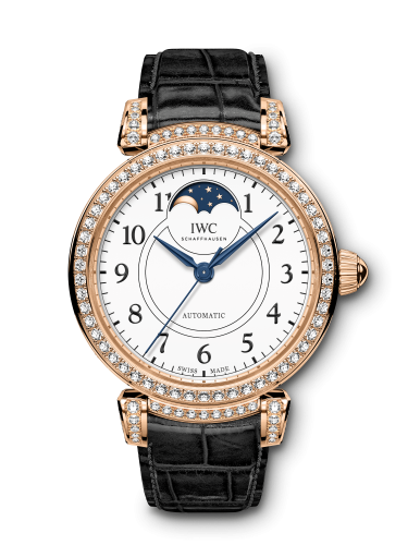 "IWC IW4593-04 : Da Vinci 36 Moonphase ""150 Years"" Red Gold / Diamond / White"