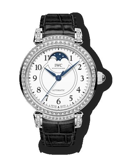 "IWC IW4593-09 : Da Vinci 36 Moonphase ""150 Years"" White Gold / Diamond / White"