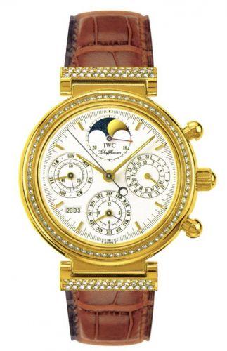 IWC IW8153-02 : Da Vinci Perpetual Yellow Gold / Diamond / White / Italian