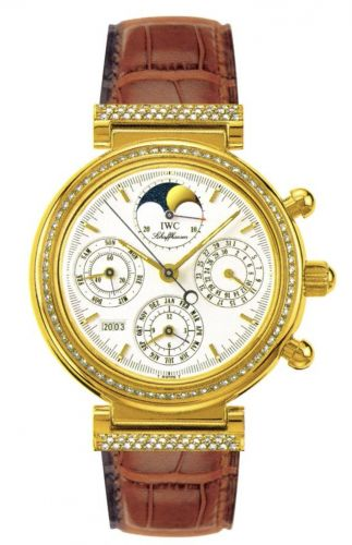 IWC IW8153-04 : Da Vinci Perpetual Yellow Gold / Diamond / White / French