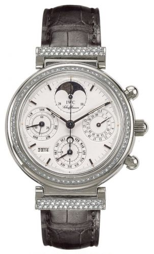 IWC IW8153-12 : Da Vinci Perpetual White Gold / Diamond / White / French