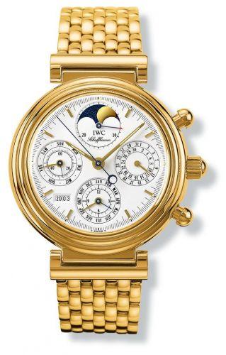IWC IW9252-01 : Da Vinci Perpetual Yellow Gold / White / German / Bracelet