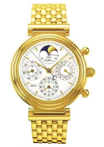 IWC IW9252-02 : Da Vinci Perpetual Yellow Gold / White / Italian / Bracelet