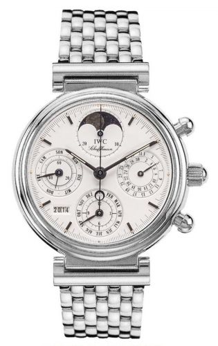 IWC IW9252-07 : Da Vinci Perpetual White Gold / White / English / Bracelet