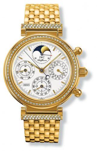 IWC IW9253-01 : Da Vinci Perpetual Yellow Gold / Diamond / White / German / Bracelet