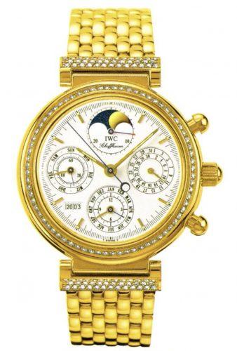 IWC IW9253-04 : Da Vinci Perpetual Yellow Gold / Diamond / White / French / Bracelet