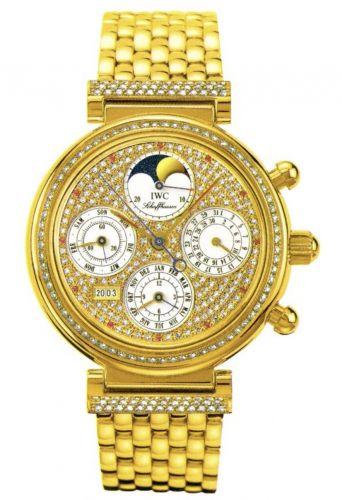 IWC IW9253-07 : Da Vinci Perpetual Yellow Gold / Diamond / Paved / English
