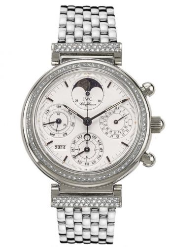 IWC IW9253-09 : Da Vinci Perpetual White Gold / Diamond / White / German