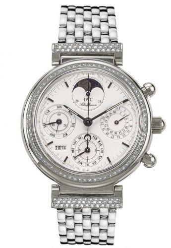 IWC IW9253-10 : Da Vinci Perpetual White Gold / Diamond / White / Italian