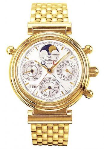 IWC IW9254-04 : Da Vinci Perpetual Rattrapante Yellow Gold / Silver / French / Bracelet