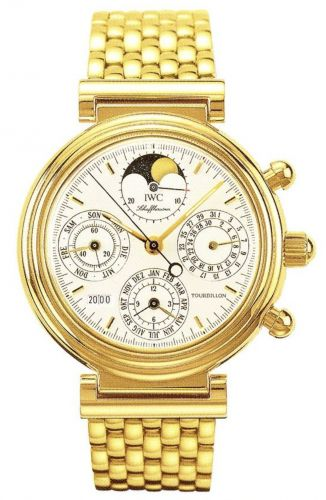IWC IW9267-01 : Da Vinci Tourbillon Yellow Gold / German / Bracelet