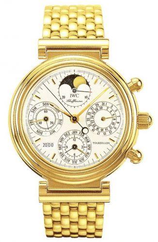 IWC IW9267-02 : Da Vinci Tourbillon Yellow Gold / Italian / Bracelet
