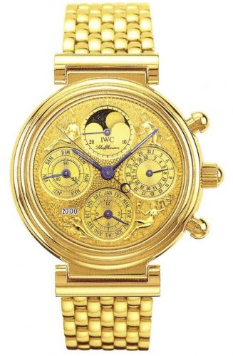 IWC IW9267-05 : Da Vinci Tourbillon Quattro Stagioni / German / Bracelet