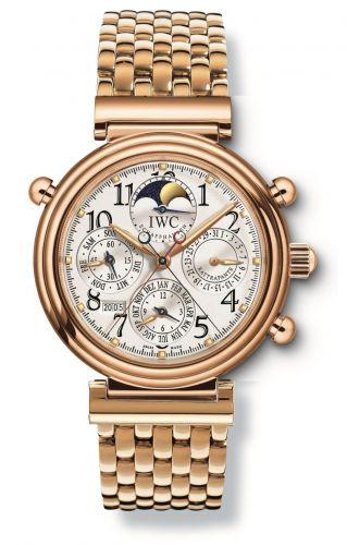 IWC IW9272-04 : Da Vinci Perpetual Rattrapante Rose Gold / Silver / French / Bracelet