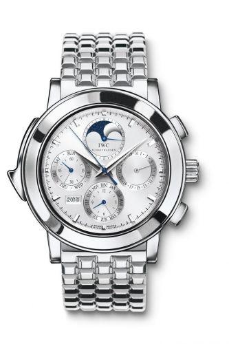 IWC IW9270-16 : Grande Complication 3770 Platinum / Silver / English / Bracelet