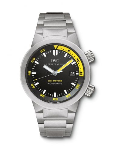 IWC IW3538-03 : Aquatimer 2000 Titanium / Black / Bracelet