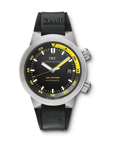 IWC IW3538-04 : Aquatimer 2000 Titanium / Black / Rubber